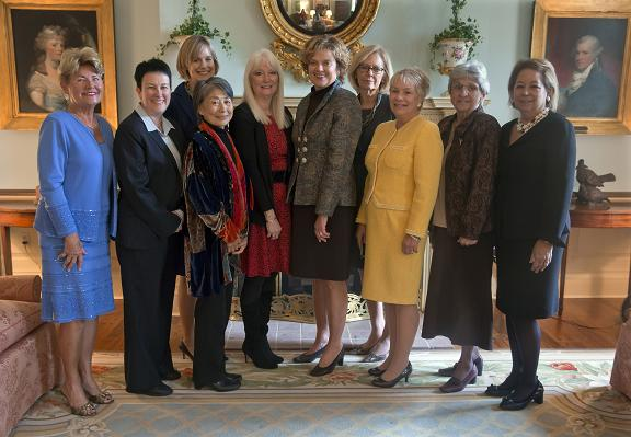 2013 Distinguished Daughters with First Lady Corbett