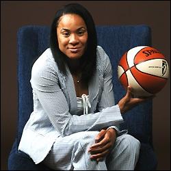 Dawn Staley ball Dawn Staley: Coach Olympian Philly native